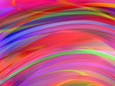 Free Abstract Wavy Background Stock Photography - 4196312