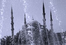 Free Blue Mosque Stock Photos - 4197023