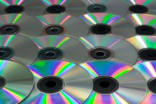 Free Compact Disks Royalty Free Stock Image - 4197136