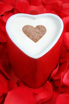 Free Heart Shaped Coffee Cup Stock Photos - 4197223