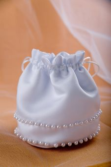 Bridal Handbag Stock Image