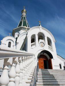 Free Church Of St. Alexander Nevsky Stock Photos - 41906893