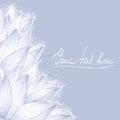 Free Blue Lotus Blank Design Royalty Free Stock Photo - 41930275