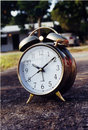 Free Classic Alarm Clock Royalty Free Stock Photography - 420127
