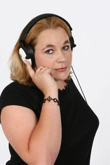 Free Businesswoman Listening Royalty Free Stock Photo - 420425