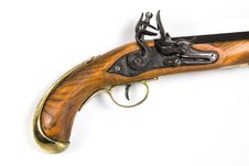 Free Antique Pistol 2 Stock Photo - 421270