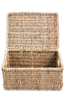 Free Wicker Box 2 Royalty Free Stock Images - 421279