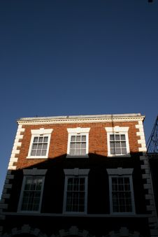 Free Historic Building In Shadow In Chester Stock Photo - 421430