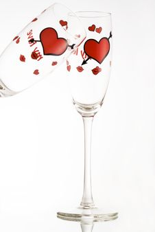 Free Valentine S Toast Royalty Free Stock Photography - 422377