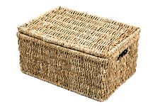 Free Wicker Box 3 Royalty Free Stock Photography - 422817