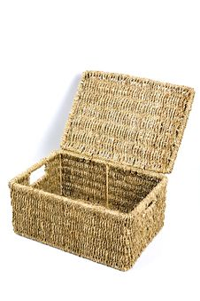 Free Wicker Box 4 Royalty Free Stock Photos - 422818