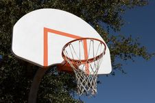 Free Basketball Goal Stock Photo - 423260