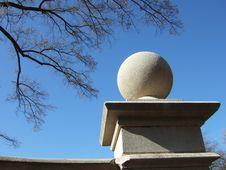 Free Stone Sphere Royalty Free Stock Photo - 424225