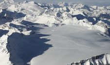 Free Aerial Alps Landscape Royalty Free Stock Photo - 425175