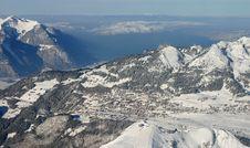 Free Alps Ski Resort Royalty Free Stock Image - 425176