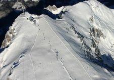 Free Alps Ski Resort Royalty Free Stock Photography - 425177