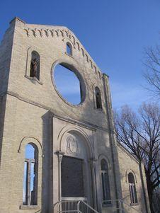 Monastary Ruins In St. Norbert Stock Image