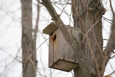 Homemade Birdhouse Stock Photos