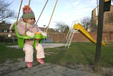 Free Girl On Swing 1 Stock Images - 426324
