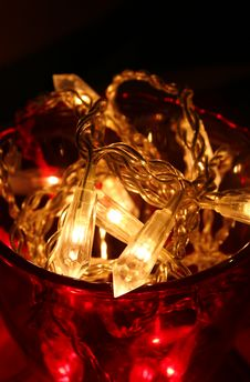 Decorative Lights Stock Image