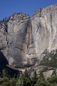 Free Upper Yosemite Falls Stock Photography - 427352