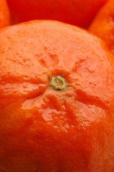 Free Tangerine Macro Royalty Free Stock Photography - 429437