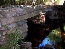 Free Historic Granite Bridge Royalty Free Stock Image - 429696