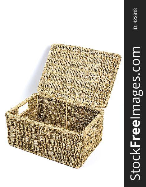 Wicker Box 4