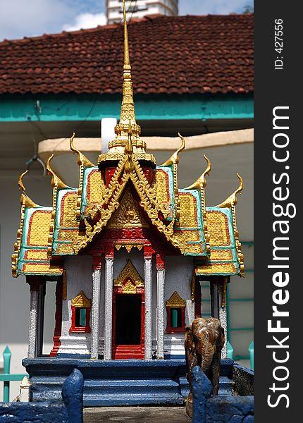 Burmese Temple Statue