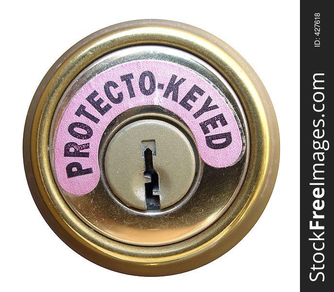 Protecto-Keyed Lock