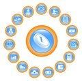 Free Money Icons Stock Photography - 4202142