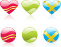Free Hearts Icons Stock Image - 4209321
