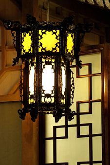 Free Chinese Palace Lantern. Royalty Free Stock Image - 4200846