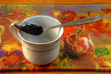 Free Preparation Of Tea Royalty Free Stock Image - 4200886
