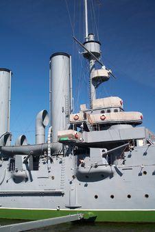 Free Battle Ship Stock Image - 4201311
