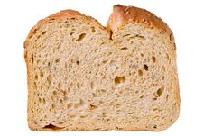 Slice Of Country Bread Stock Photos