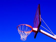 Free Basket Ball Net And Ring 2 Royalty Free Stock Image - 4201936
