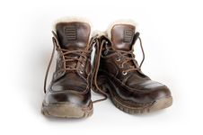 Free Winter Boots Royalty Free Stock Photography - 4202367