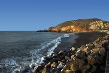 Free California Coastline Rockaway Beach Royalty Free Stock Photo - 4202425