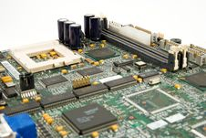 Free Motherboard Royalty Free Stock Image - 4202606
