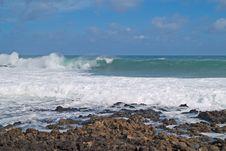 Sea Surf Royalty Free Stock Image