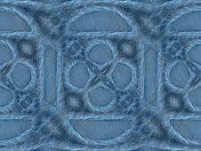 Free Geometric Pattern Blue Stock Photography - 4202832
