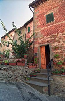 Free Open Door In Italy Stock Photos - 4203263