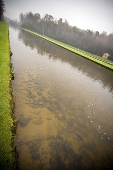 Free Water Reflections At Fountains Abbey In North York Stock Photos - 4203293