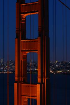 Free Golden Gate Bridge Stock Photo - 4203440