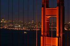 Free Golden Gate Bridge Royalty Free Stock Photo - 4203445