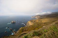 Free California Coast Vista Royalty Free Stock Photo - 4204235