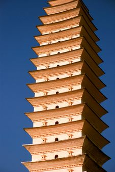 Golden Pagoda Stock Images