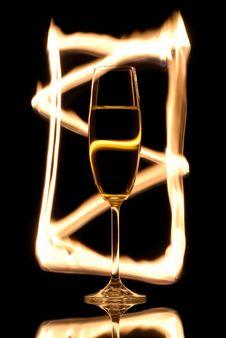 Free Champagne Glass Stock Photo - 4206890