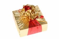 Free Box Of The Gift Royalty Free Stock Photos - 4206938